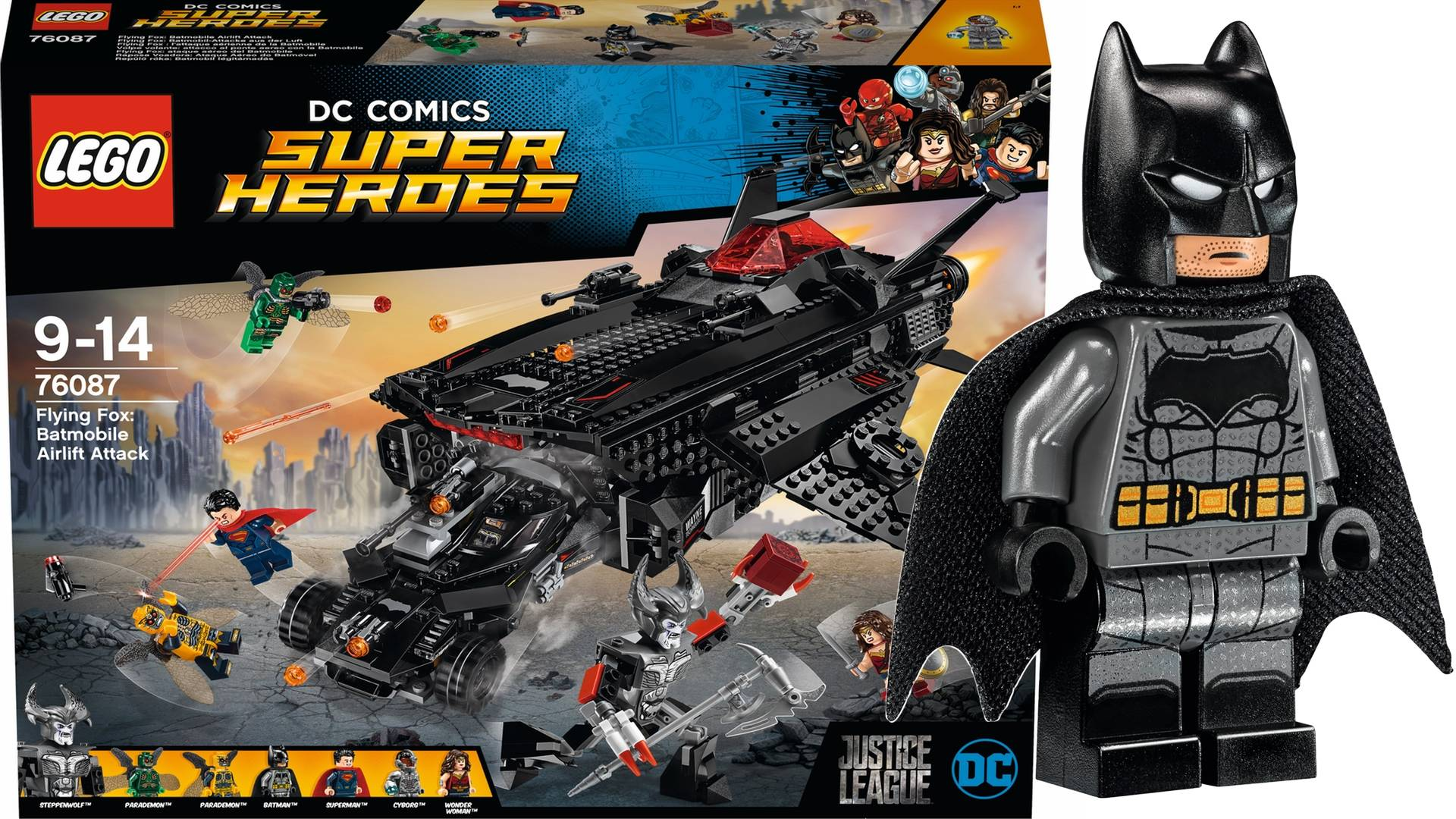 LEGO DC Sets