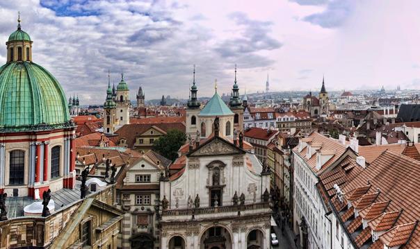 Прага на авто. 10 самых интересных мест.