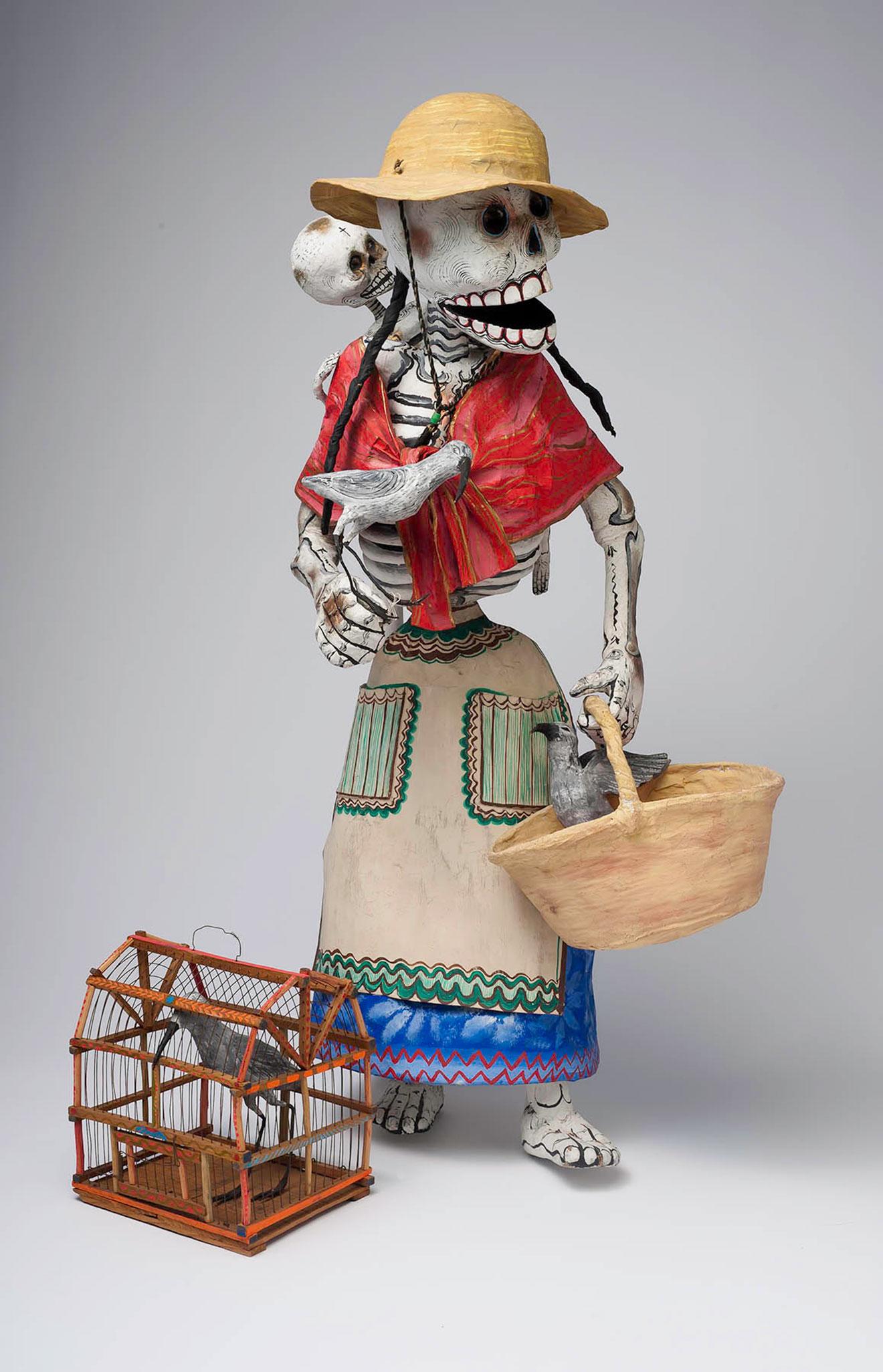 Skeleton Street Vendor