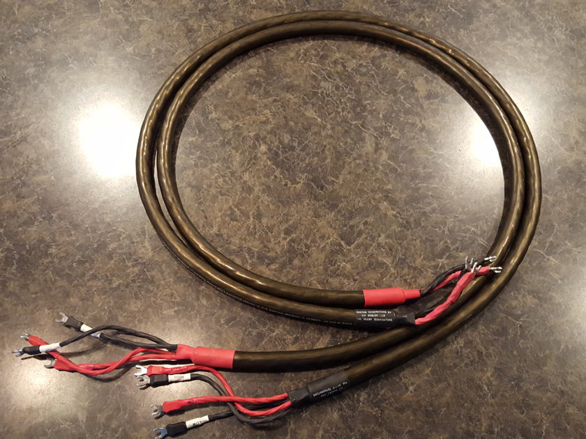 Cardas  Hexlink Golden 5c 2m Bi-wire Speaker cables