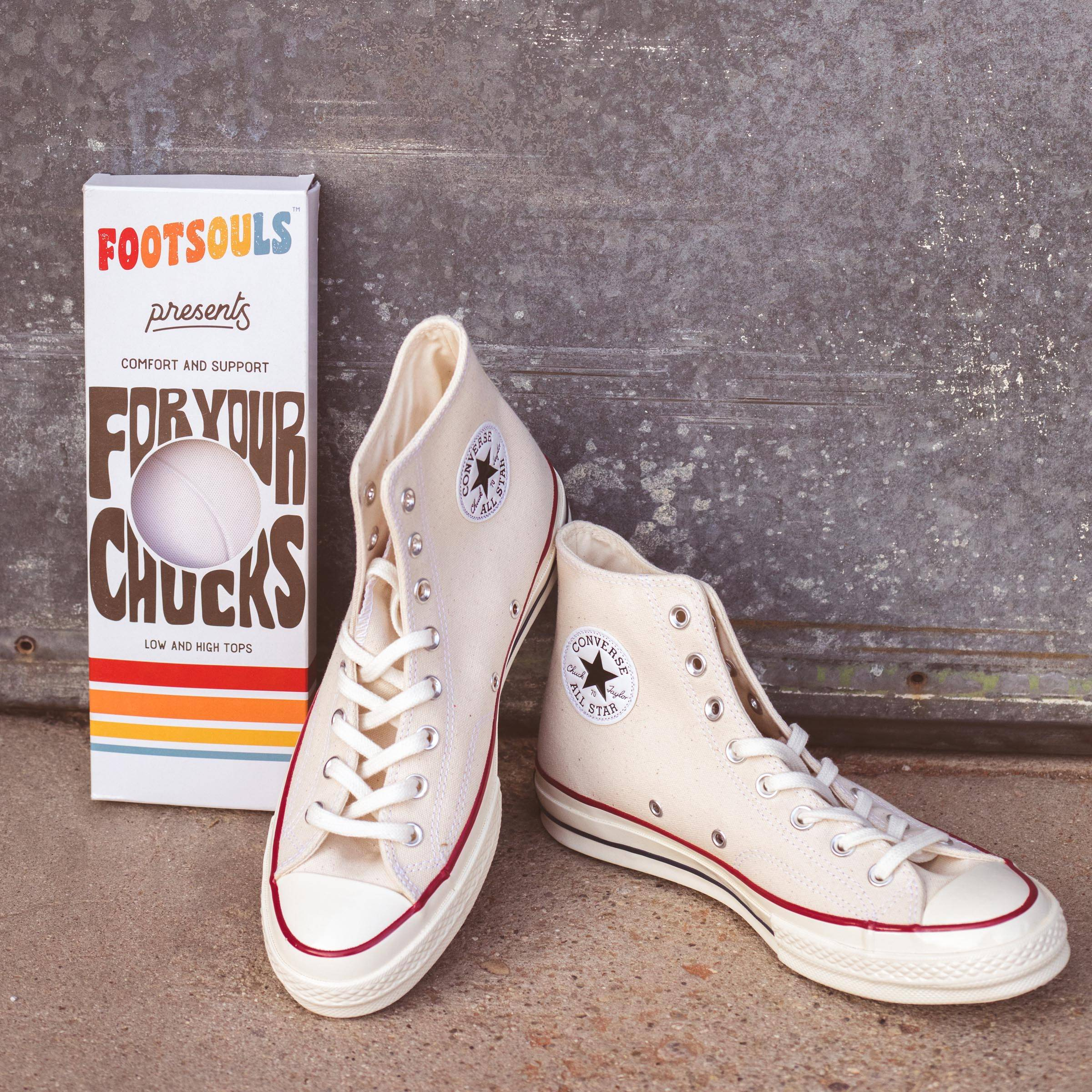 footsouls insoles for your chucks