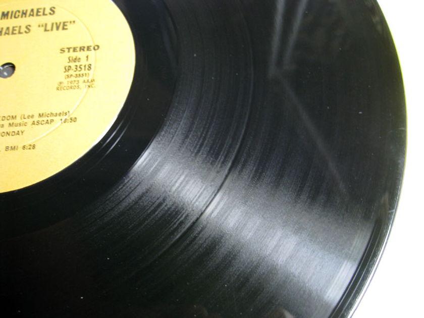 Lee Michaels - Live - 1973 A&M Records SP-3518