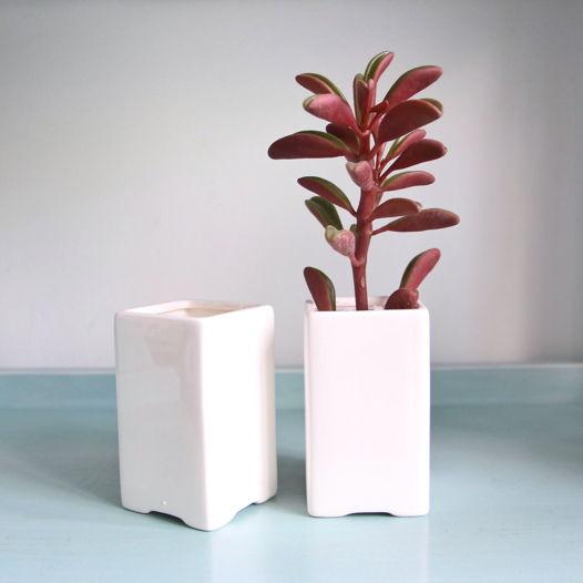Белая керамика «Табурет высокий»