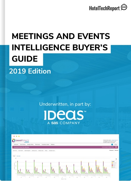 The Hotelier's Guide to Meetings & Events Intelligence Software