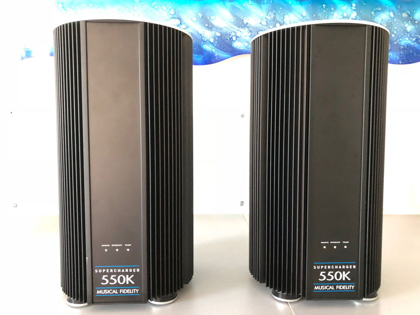 Musical Fidelity 550k Mono Amplifiers