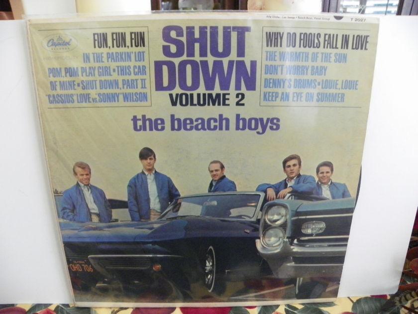 BEACH BOYS - SHUT DOWN VOL. 2 1ST EDITION-Rare Mono