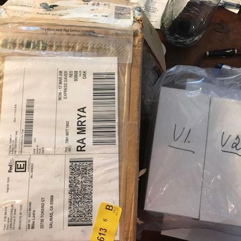 shipped to me