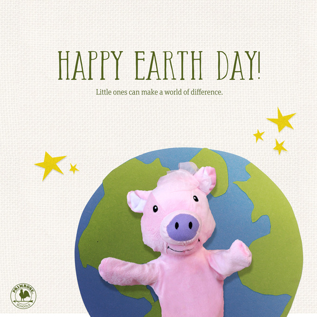 Earth Day Celebrations!  Wear Green!  Parents Pick Up your Earth Day Gift!  Thursday April 22nd