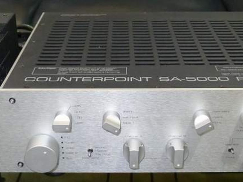 Counterpoint SA-5000 115 / 230 v. Free ship worldwide !