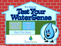 test your water sense game