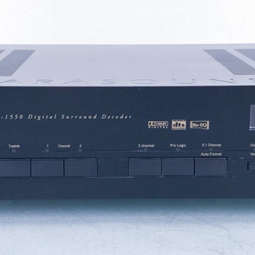 P/D-1550 DAC; Digital Surround Decoder;