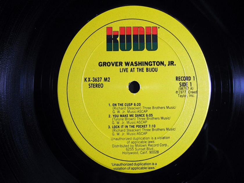 Grover Washington, Jr. - Live At The Bijou - MASTERDISK Mastered 977  Kudu – KUX 3637M2