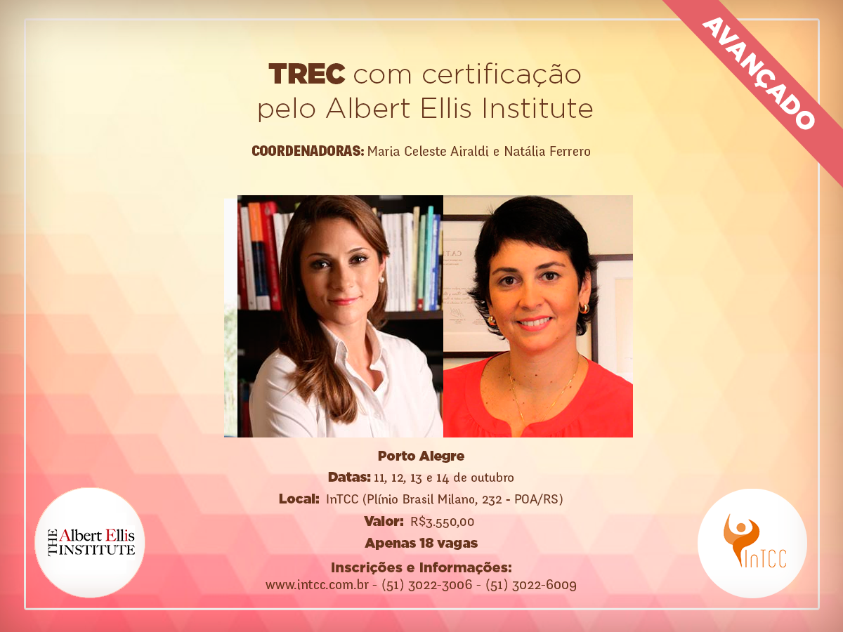 TREC (com certificação pelo Albert Ellis Institute)
