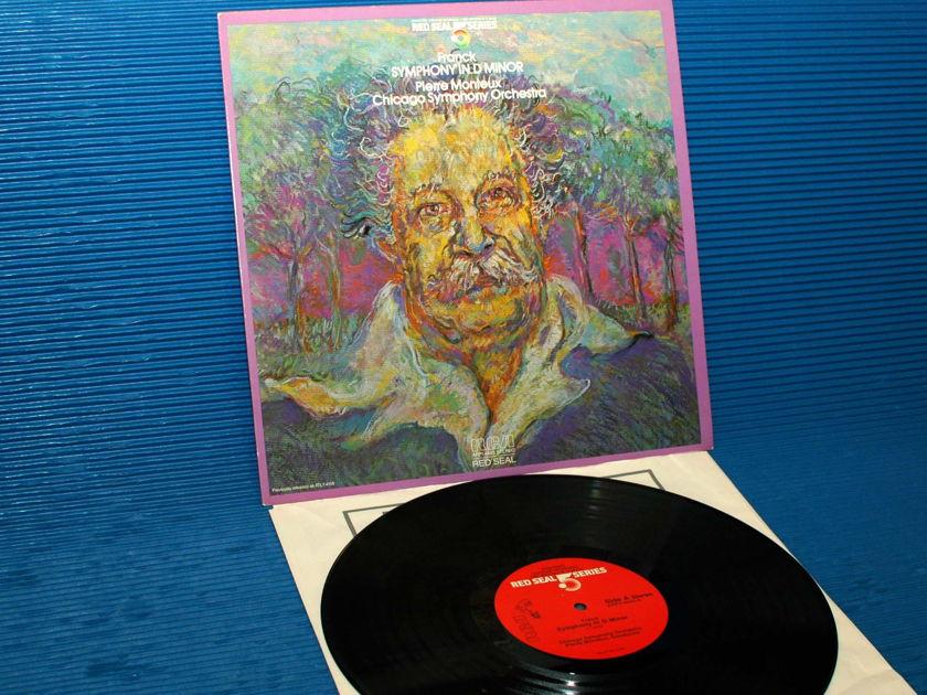 "FRANCK/Monteux -  - ""Symphony in D Minor"" - RCA .5 Series 1981 Audiophile"
