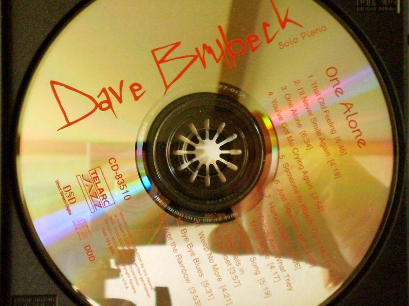 DAVE BRUBECK - ONE ALONE TELARC