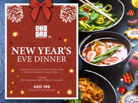 NEW YEAR'S EVE DINNER image