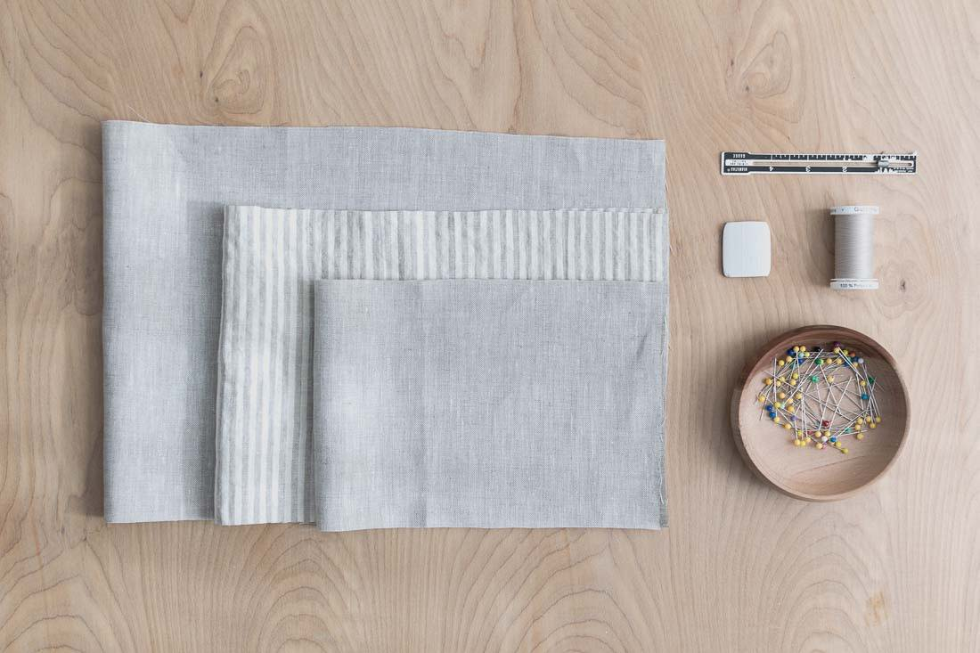 DIY Knotted Pouch Sewing Materials