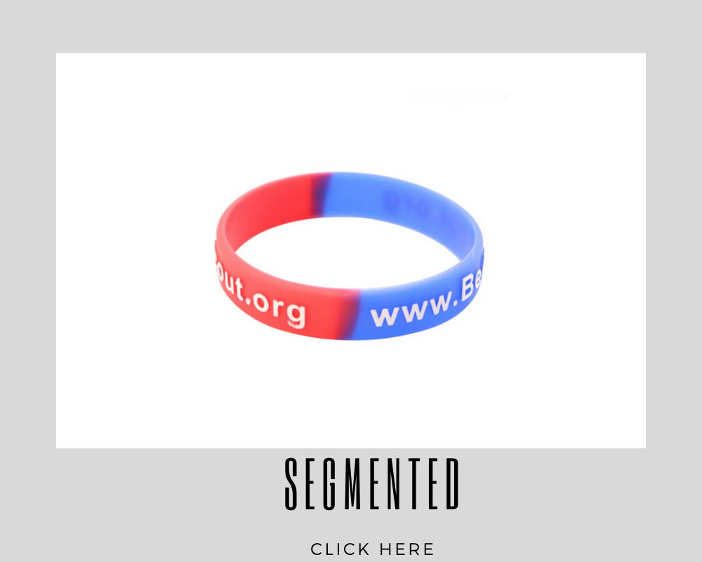 Corporate Custom Segmented Wristband