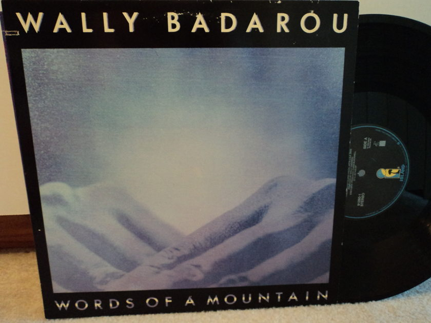 Wally Badarou - Words of a Mountain - New Age 1989 Island Records Promo NM