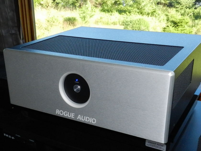 Rogue Audio Stereo 90 Amp-Silver with Extra Tubes