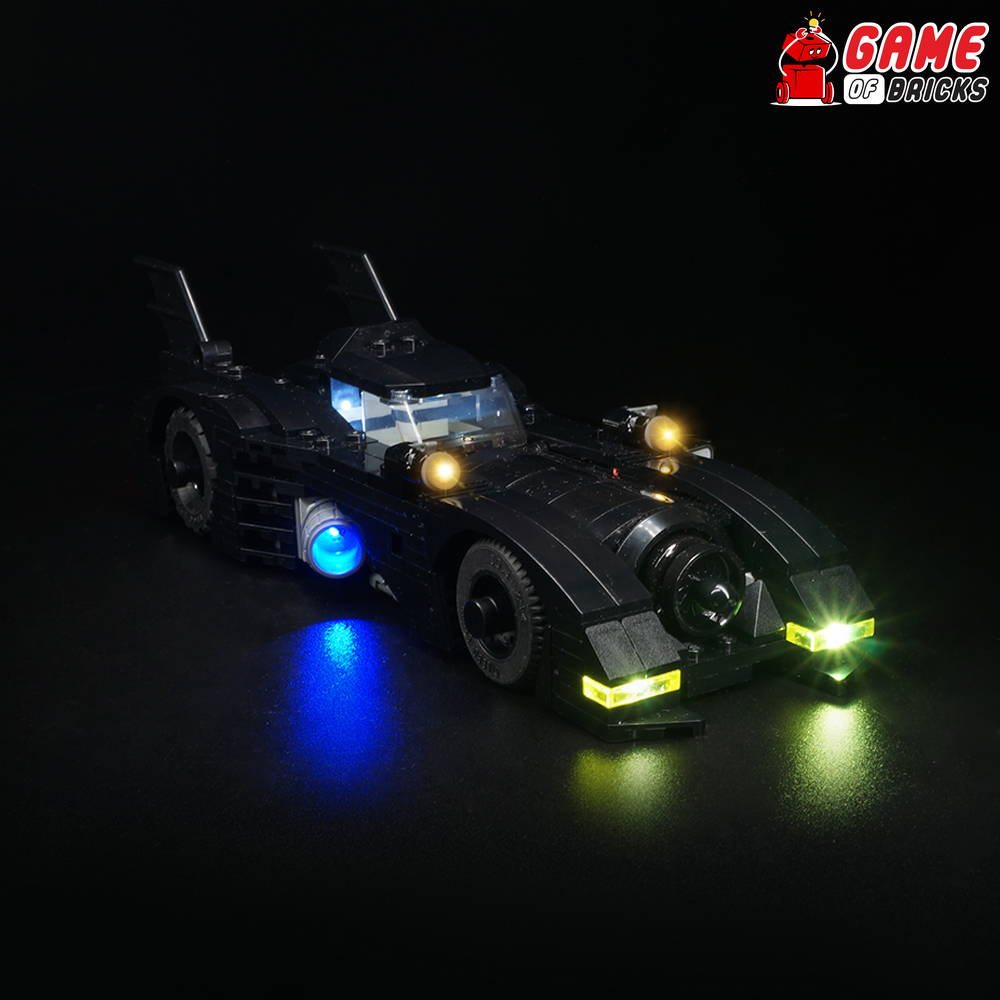 lego 40433 batmobile lights