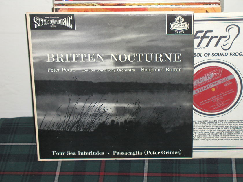 Pears/Britten/LSO - Britten Nocturne London CS 6179 NB Import
