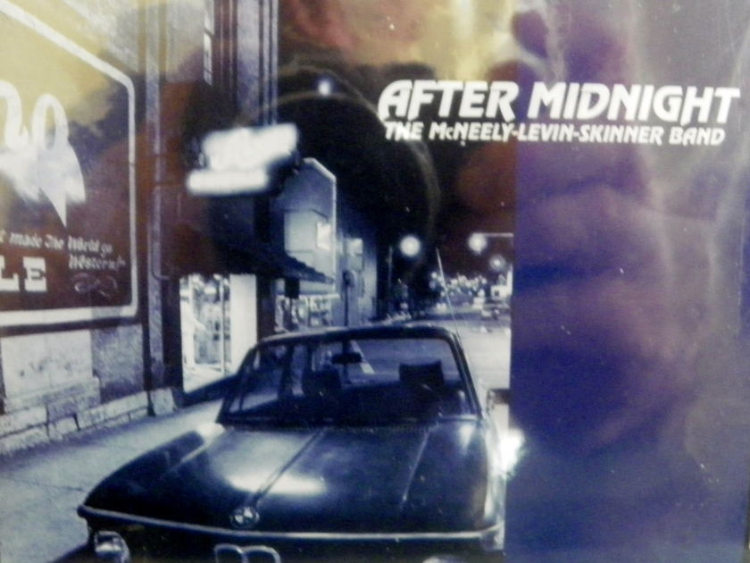 THE MCNEELY-LEVIN-SKINNER BAND - AFTER MIDNIGHT SHEFFIELD LAB CD