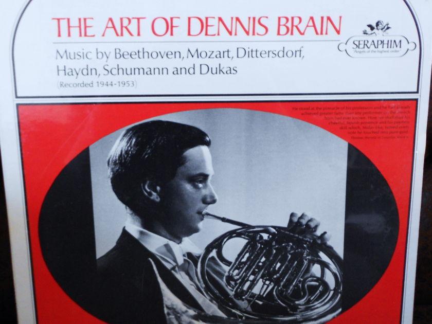 FACTORY SEALED ~ THE ART OF DENNIS BRAIN ~ ENGLISH HORN - BEETHOVEN MOZART DITTERSDORF HAYDN ETC. SERAPHIM 60040 (1966)