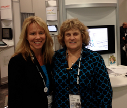 Karyn Davenport and Sheryl Rowling of Total Rebalance Expert beam.