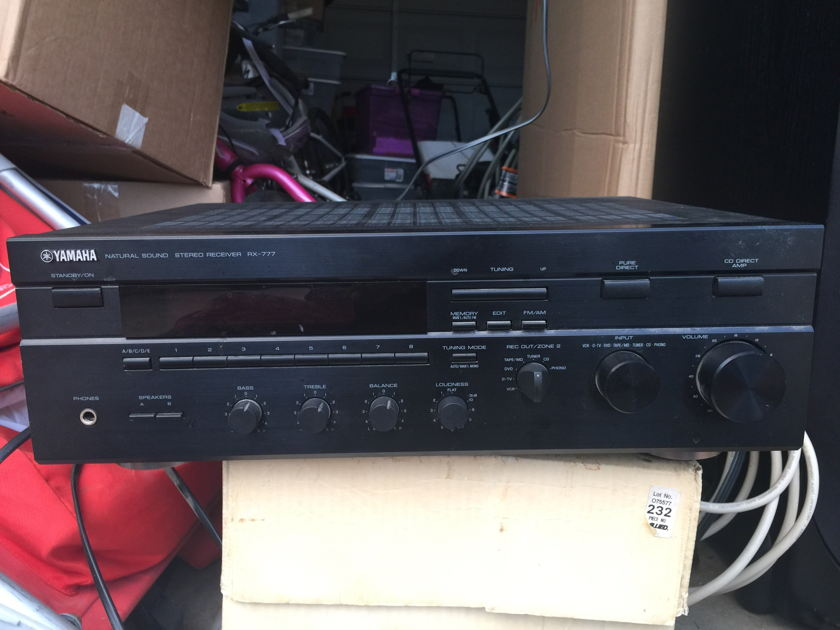 Yamaha RX-777 Stereo Receiver