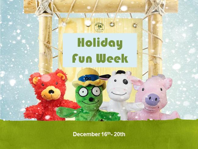holiday camp fun week