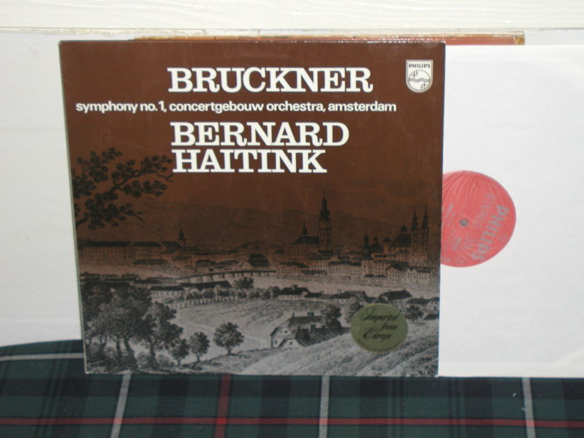 Haitink/COA - Bruckner Sym .No 1 Philips Import Pressing 6500
