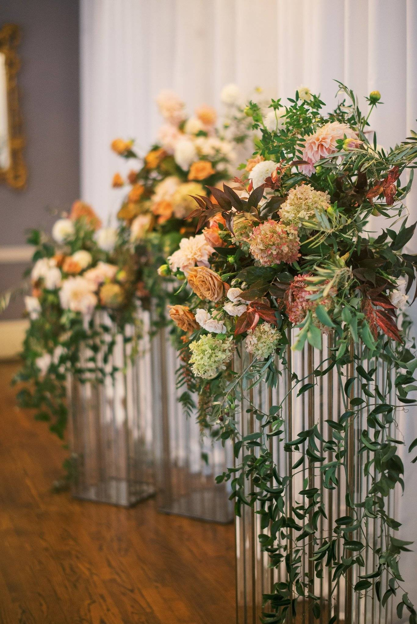 Fall Genesee Valley Club Wedding Rochester NY in warm fall tones