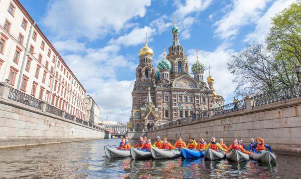 Исторический центр на байдарках и каяках по Санкт-Петербургу