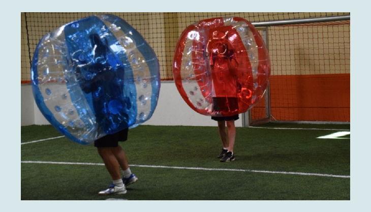 nbg bubble soccer torwart