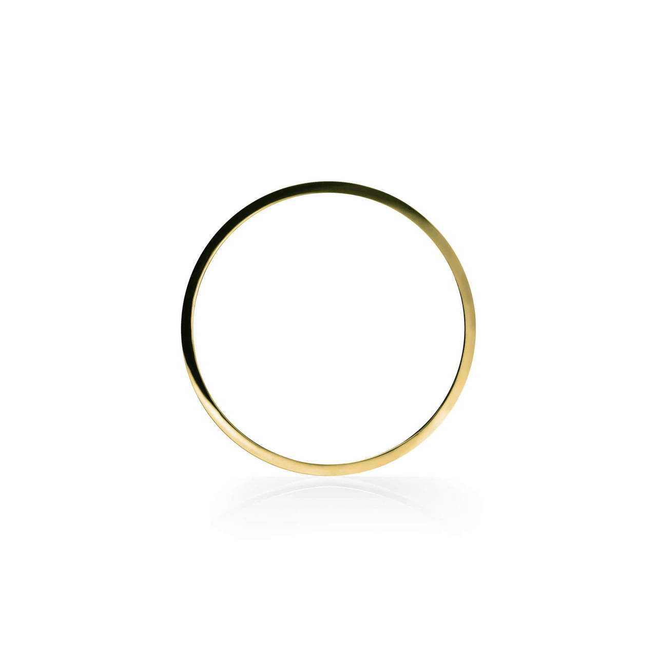Round Bangle in Brass