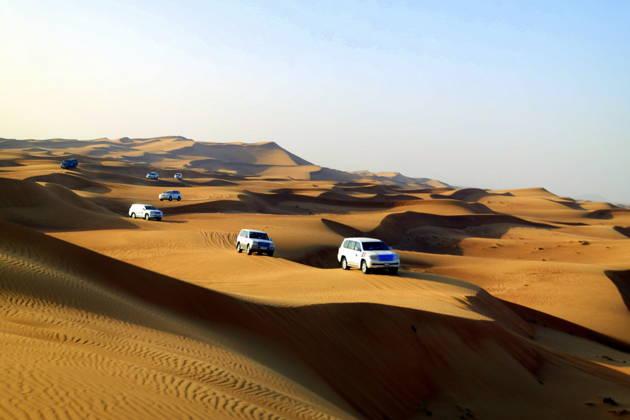 Пустынное сафари (из Шарджи)