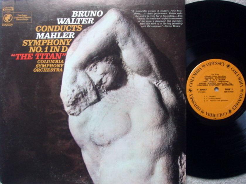 Columbia Odyssey / BRUNO WALTER,  - Mahler Symphony No.1 Titan, MINT!