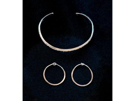 El Dorado Jewelry - GorgeousSilver bracelet and hoops