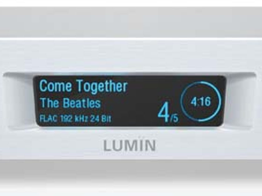 LUMIN D1 NETWORK Music Streamer w/DAC Award Winning Sound! Super Easy to Use & Enjoy!