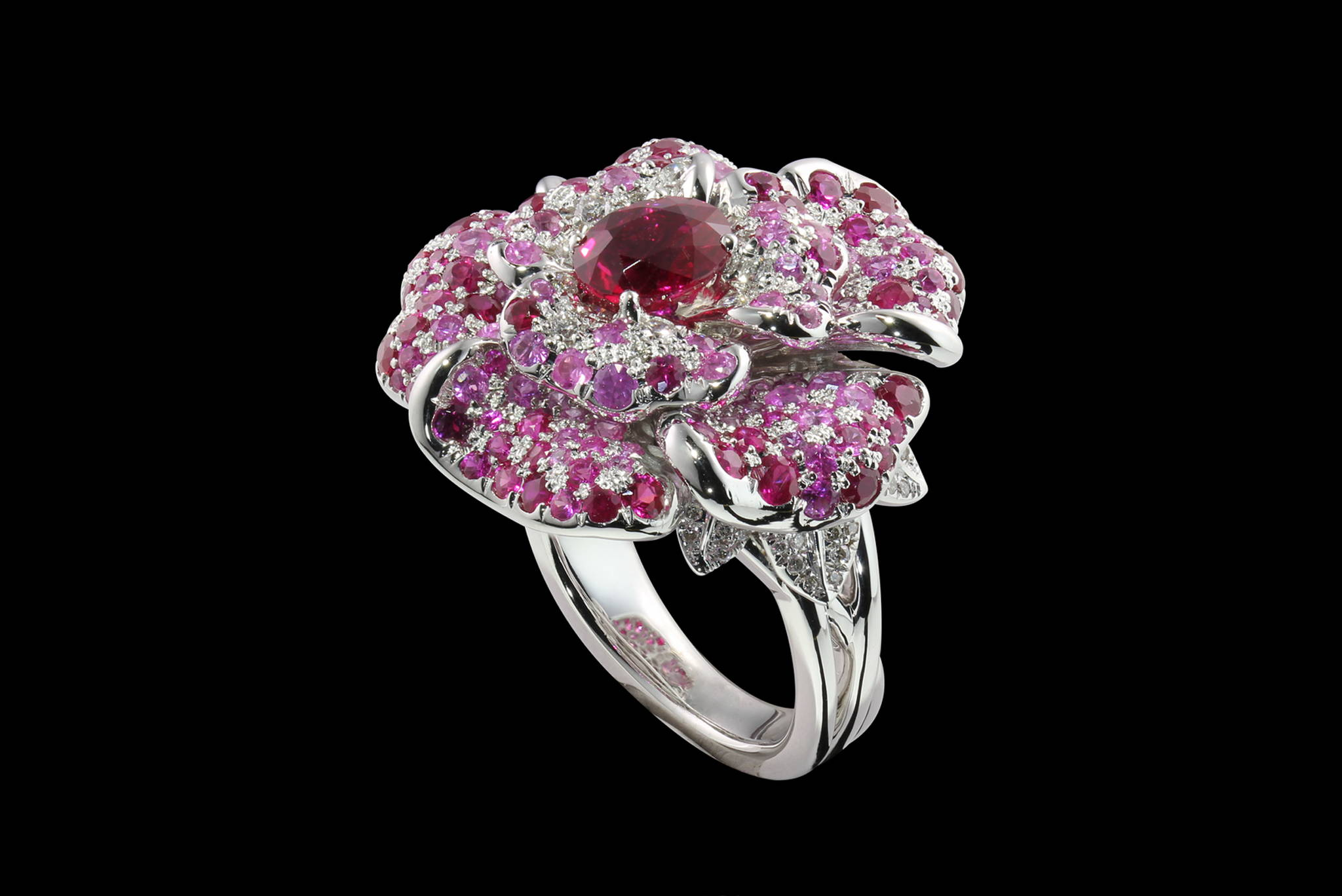 Burmese Rose Ring