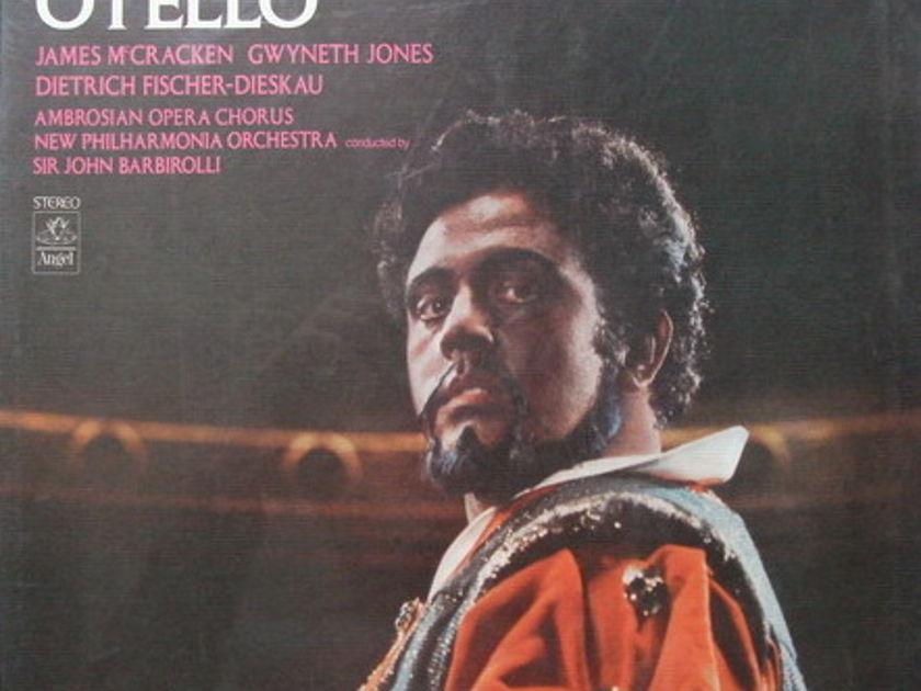 ★Sealed★ EMI Angel / BARBIROLLI-FISCHER-DIESKAU, - Verdi Othello, 3LP Box Set!