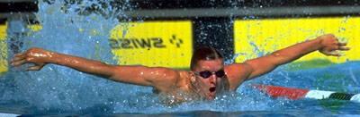 German Swimmer Michael Gross