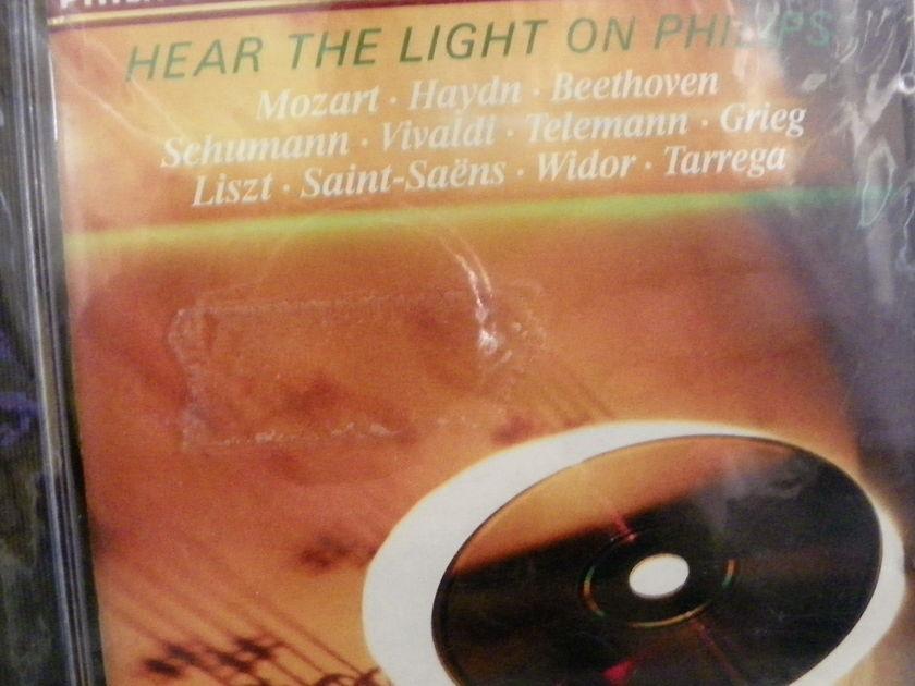 Mozart,Haydn,Beethoven,Vivaldi,Telemann,etc - HEAR THE LIGHT ON PHILLIPS NM Digital CD