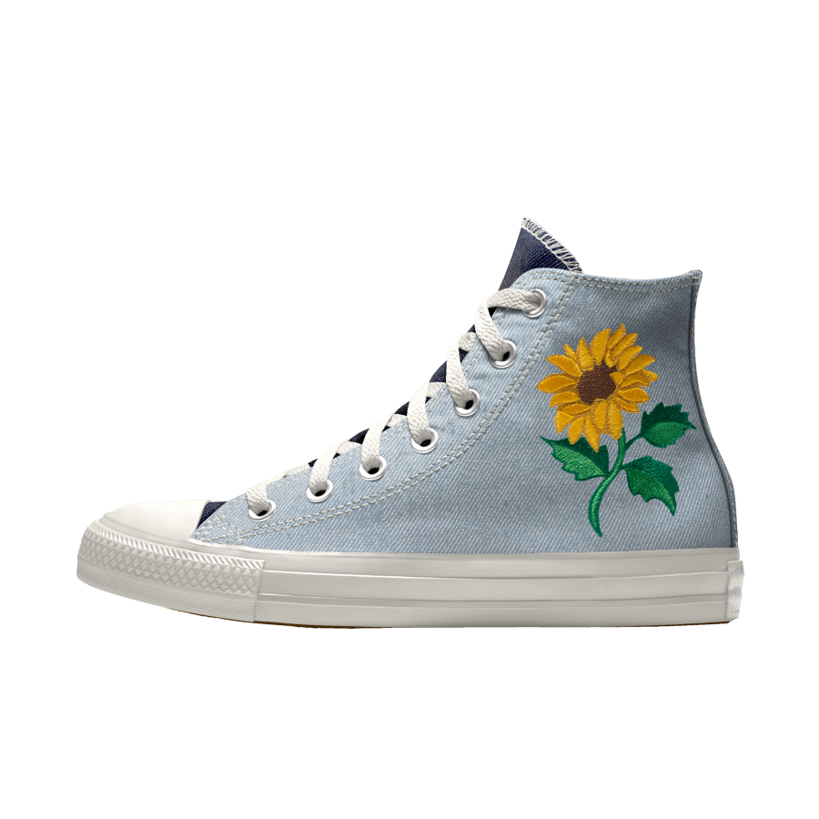 Sunflower Converse with Converse Footsouls insoles