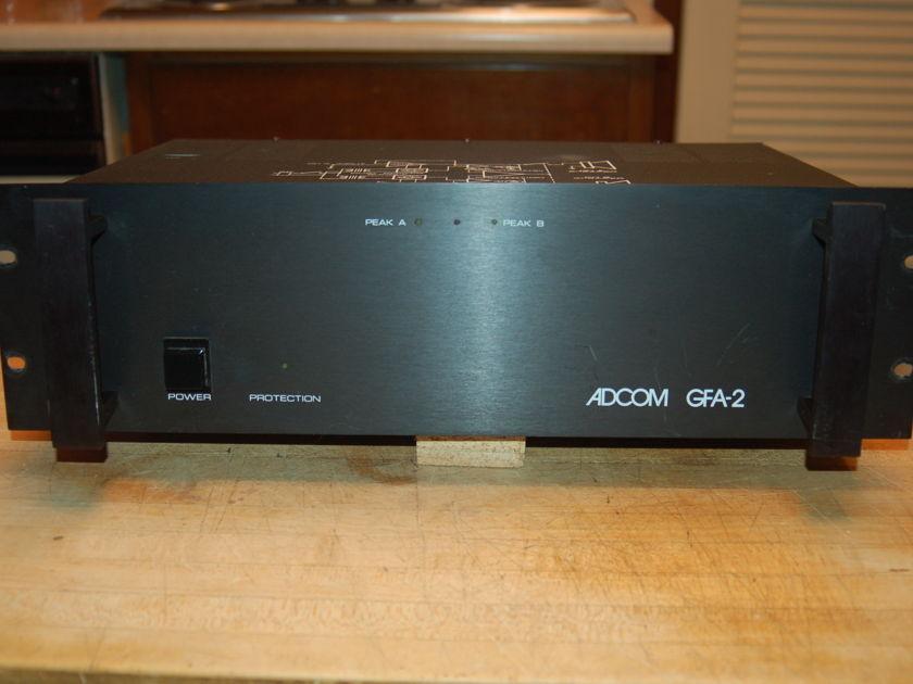 Adcom GFA-2 Professional Series 100 WPC