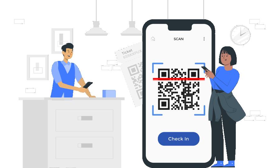 easy checkin application