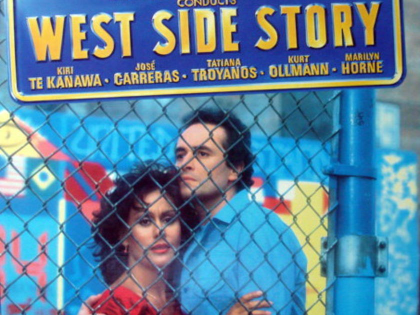 DG Digital / Bernstein West Side Story, - BERNSTEIN/TE KANAWA/CARRERAS, MINT, 2LP Box Set!