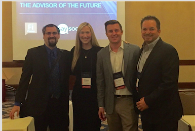 Advisors of the future: Mike Kitces, Megan Carpenter, Jason Lahita and Victor Gaxiola
