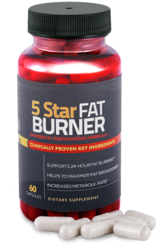 fat burner bottle